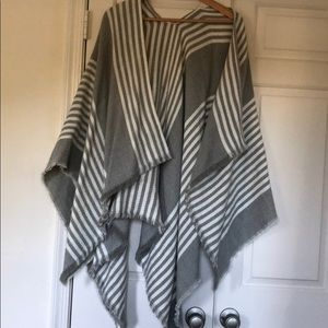 Gray and White Cape  from Nordstrom